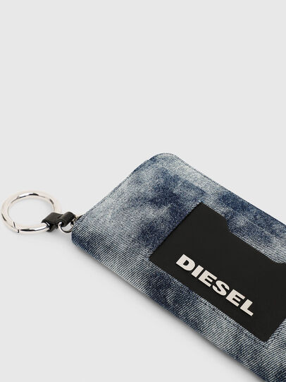 Diesel - ALLIUM, Blue Jeans - Zip-Round Wallets - Image 4