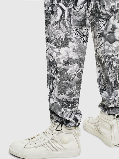 Diesel - P-TOLL-KAOS, Black/White - Pants - Image 6