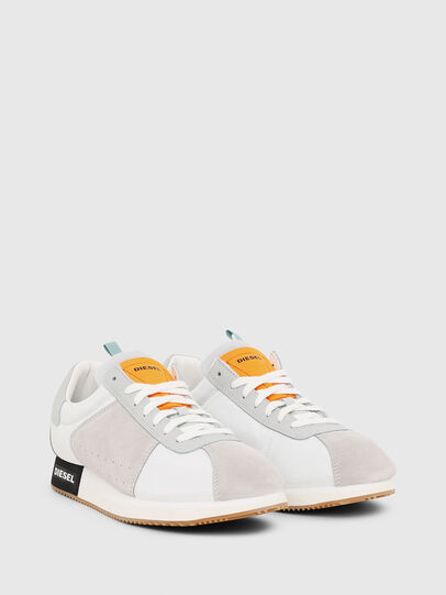 Diesel - S-PYAVE LC, White/Grey - Sneakers - Image 2
