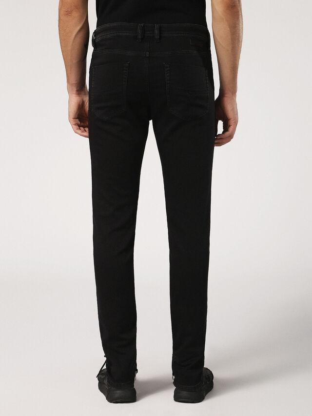 DEEPZIP JOGGJEANS 0687Z, Black Jeans