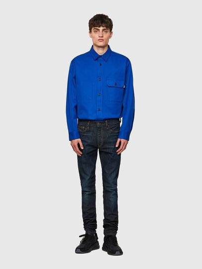 Diesel - D-Amny 069WF, Dark Blue - Jeans - Image 5