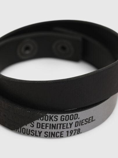 Diesel - A-CCA, Black - Bijoux and Gadgets - Image 2