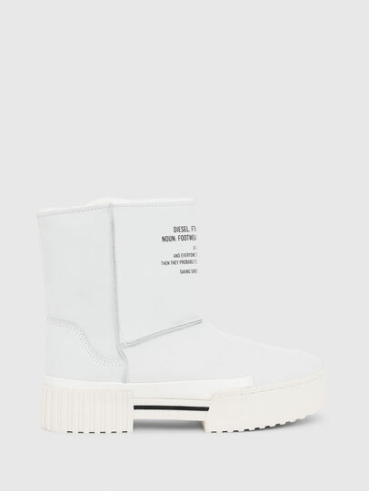 Diesel - H-MERLEY AB, White - Ankle Boots - Image 1