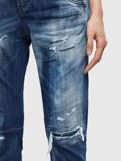 Diesel - Fayza JoggJeans 0099S, Dark Blue - Jeans - Image 4