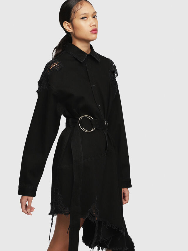 Diesel - DE-PEONY, Black - Dresses - Image 5