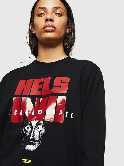 Diesel - LCP-S-GIRK-HELSINKI, Black - Sweaters - Image 5