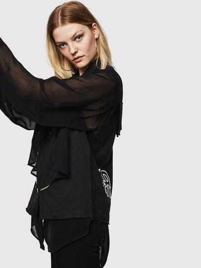 Diesel - C-PAYLA, Black - Shirts - Image 7