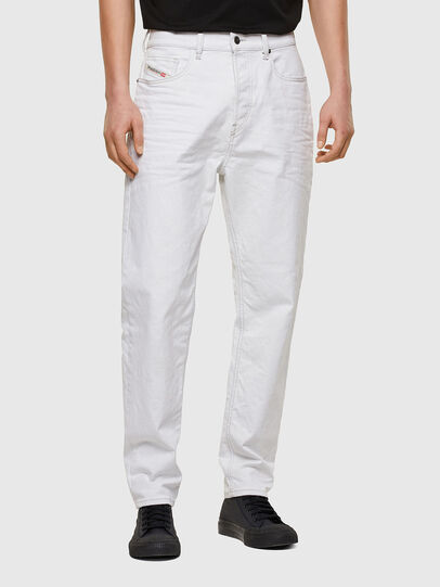 Diesel - D-Vider 003AF, White - Jeans - Image 1