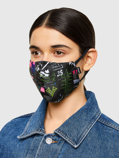 Diesel - FACEMASK-AMERICAN, Black - Other Accessories - Image 3