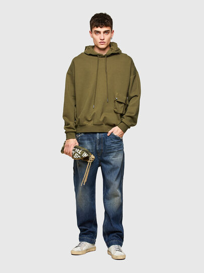 Diesel - S-ERPOCK, Military Green - Sweaters - Image 5