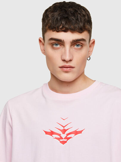 Diesel - T-JUST-E14, Face Powder - T-Shirts - Image 3