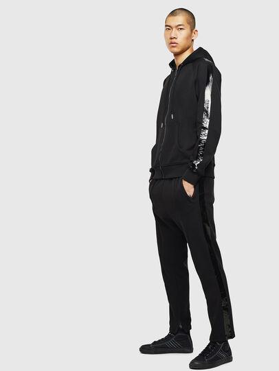 Diesel - S-GIMK-HOOD-J, Black - Sweaters - Image 5