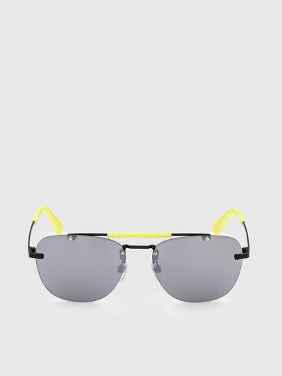 Diesel - DL0340, Black/Yellow - Sunglasses - Image 1
