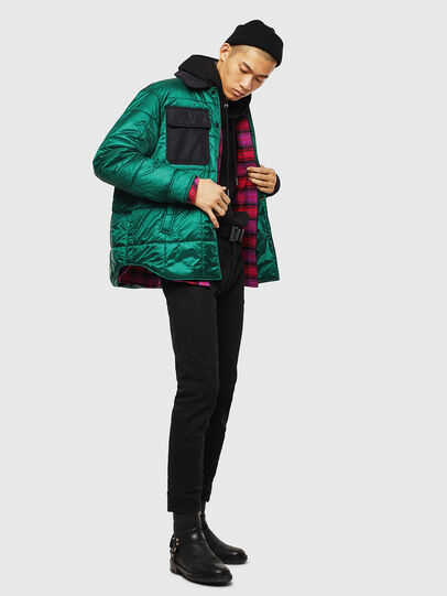Diesel - J-WELLES, Green - Winter Jackets - Image 6