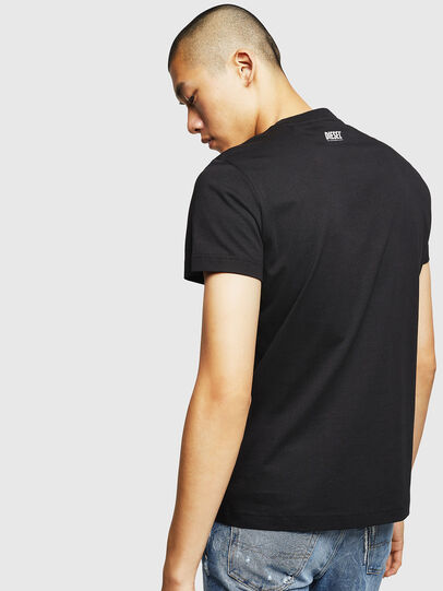 Diesel - T-DIEGO-B18, Black - T-Shirts - Image 2