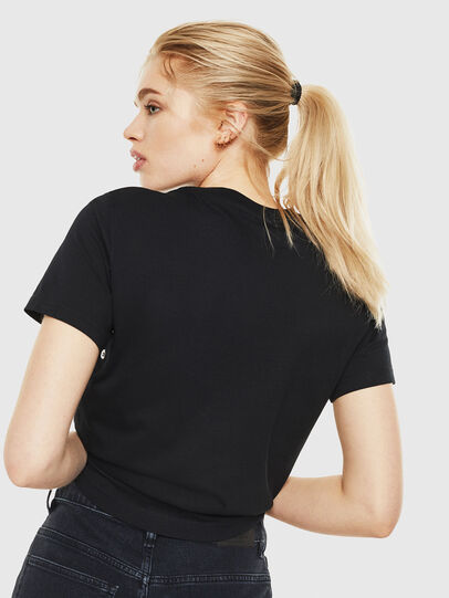 Diesel - T-SILY-WO, Black - T-Shirts - Image 2