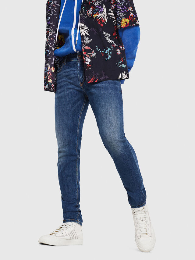 Diesel - Sleenker 069AJ, Medium blue - Jeans - Image 1