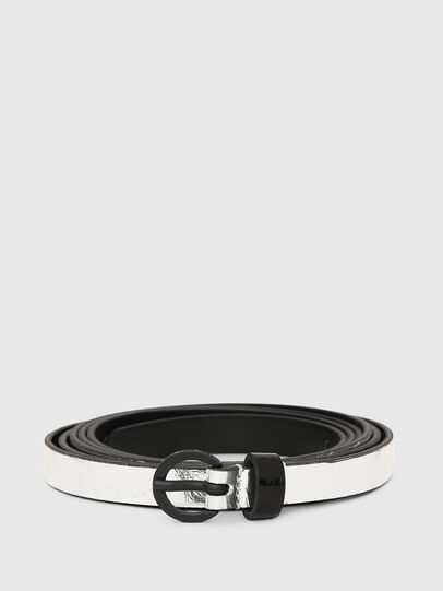 Diesel - B-EVER, Silver - Belts - Image 1