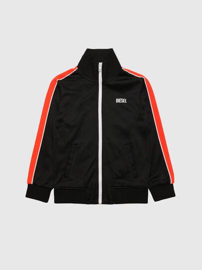 Diesel - SCORTESS, Black/Red - Sweaters - Image 1