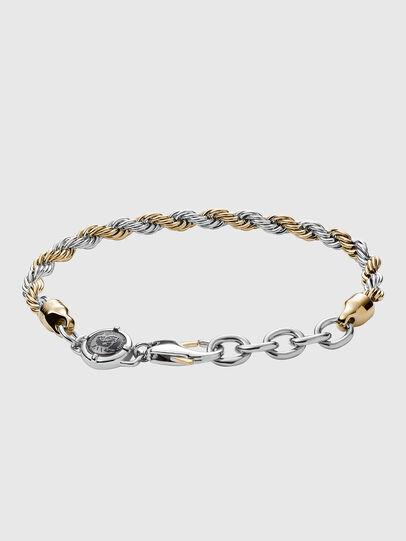 Diesel - DX1263, Gold/White - Bracelets - Image 2