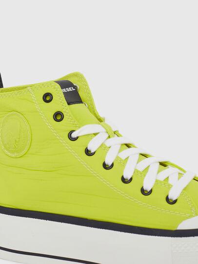 Diesel - S-ASTICO MC WEDGE, Yellow - Sneakers - Image 4