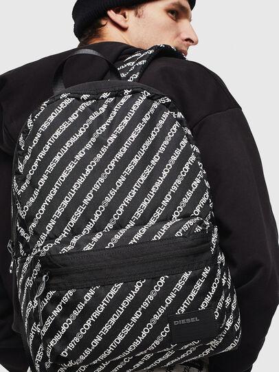 Diesel - MIRANO, Black/White - Backpacks - Image 6