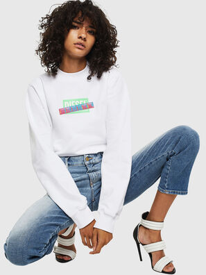F-ANG-S1, White - Sweaters