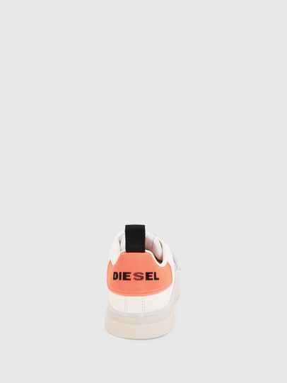Diesel - S-CLEVER LOW STRAP W, White/Pink - Sneakers - Image 4