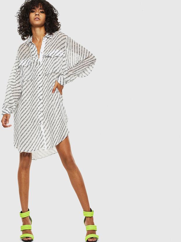 D-SUPERIOR, White - Dresses