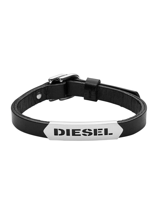 Diesel BRACELET DX0999, Black - Bracelets - Image 1