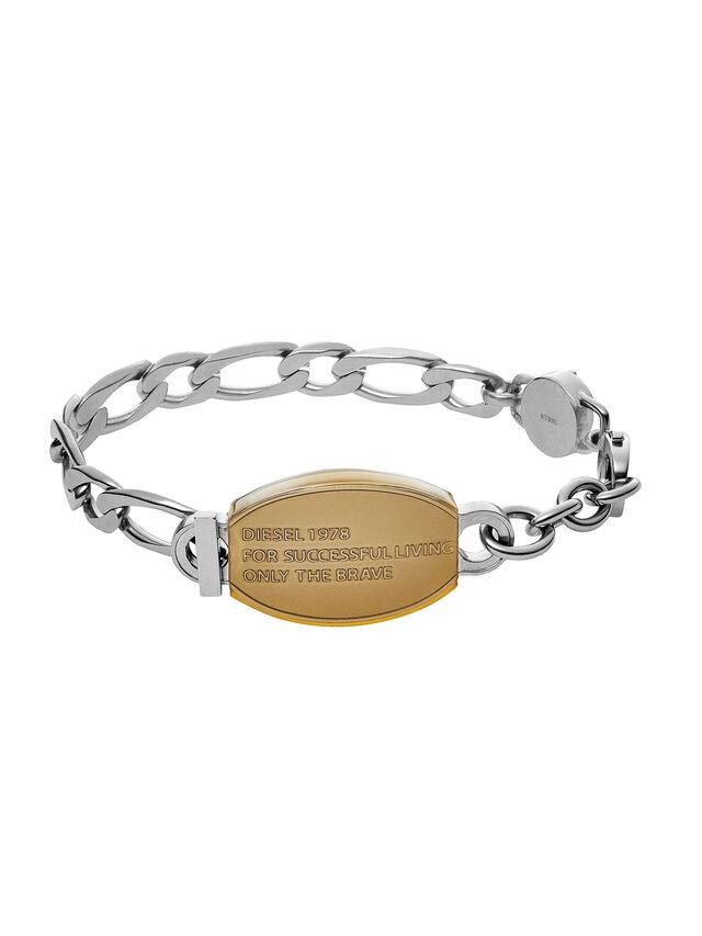 Diesel - BRACELET DX1054, Silver - Bracelets - Image 1
