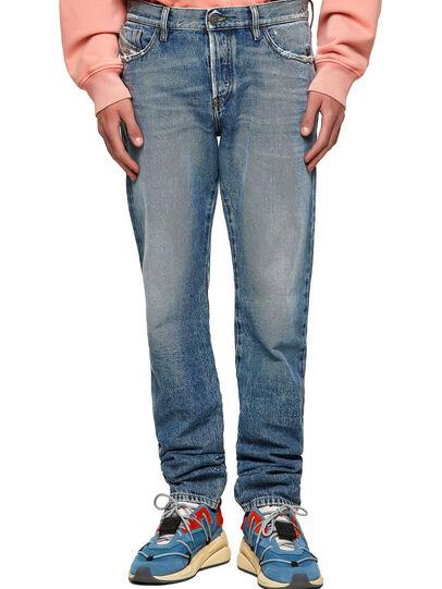 Diesel - D-Kras 09A24, Medium blue - Jeans - Image 1