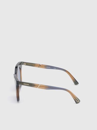 Diesel - DL0283, Blue/Yellow - Sunglasses - Image 3