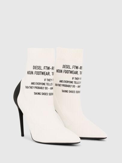 Diesel - D-SLANTY HAB, White - Ankle Boots - Image 2