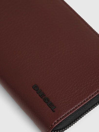 Diesel - 24 ZIP, Burgundy - Small Wallets - Image 4