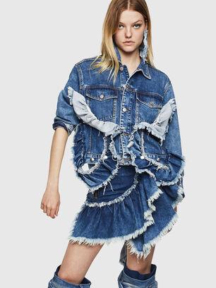 DE-ABBY, Medium blue - Denim Jackets