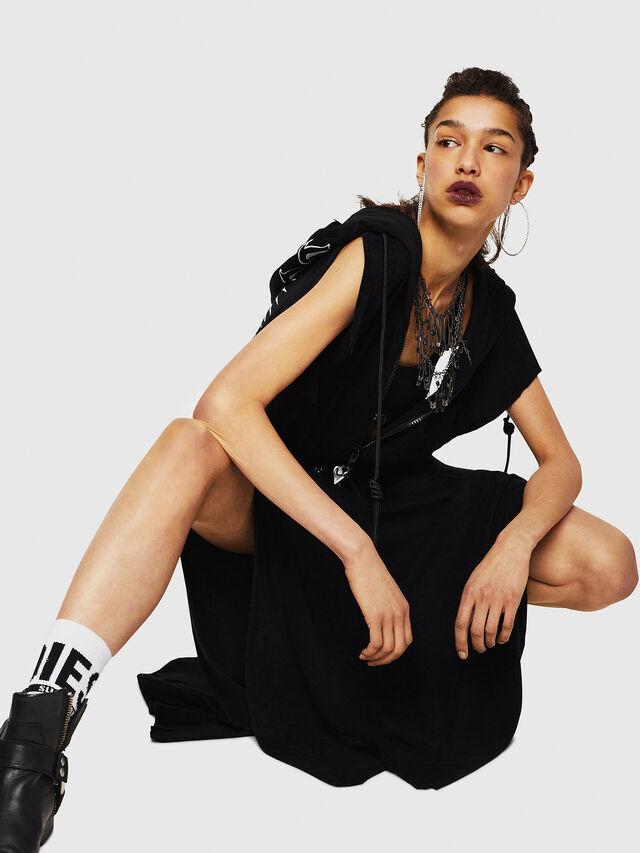 Diesel - D-LUNAI-A, Black - Dresses - Image 6