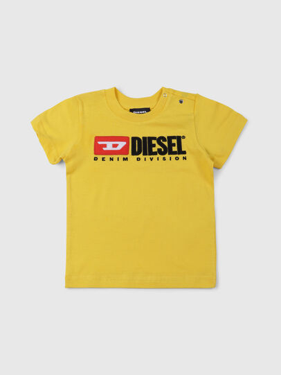 Diesel - TJUSTDIVISIONB, Yellow - T-shirts and Tops - Image 1