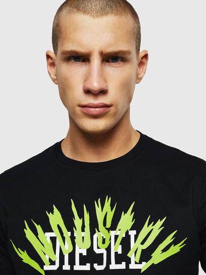 Diesel - T-DIEGO-A10, Black - T-Shirts - Image 3