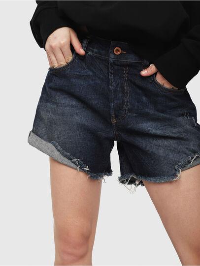 Diesel - DE-LOWY, Medium blue - Shorts - Image 3