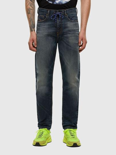 Diesel - D-Vider JoggJeans 069NT, Dark Blue - Jeans - Image 1
