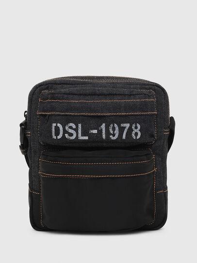 Diesel - SANDRIGO, Dark Blue - Crossbody Bags - Image 1