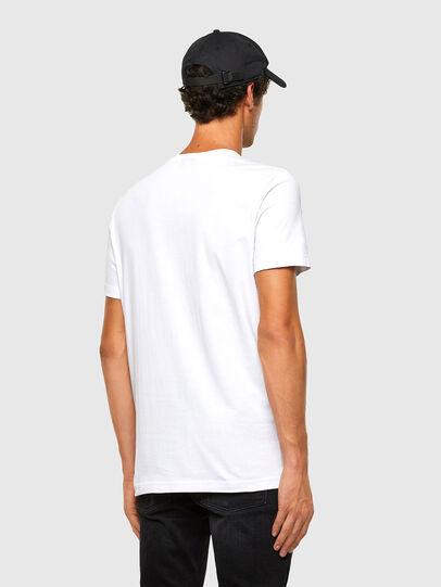 Diesel - T-DIEGOS-K32, White - T-Shirts - Image 5
