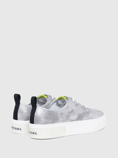 Diesel - S-VANEELA LC, Silver - Sneakers - Image 3