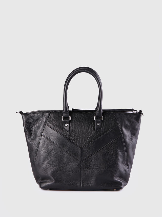 Diesel - LE-NINNA, Black - Shopping and Shoulder Bags - Image 3