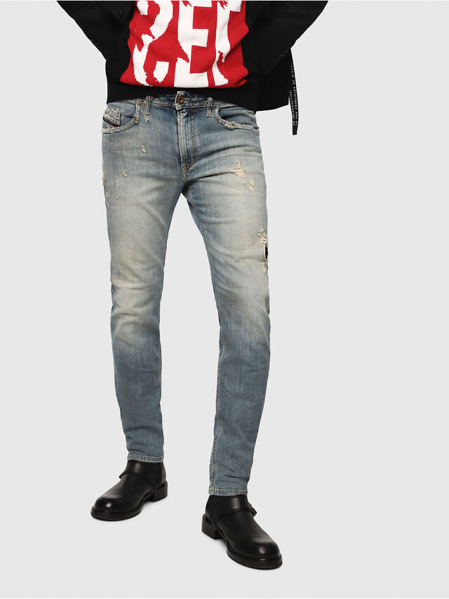 Diesel - Thommer 081AU, Medium blue - Jeans - Image 1
