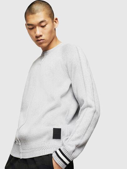 Diesel - K-BOX, Light Grey - Knitwear - Image 4