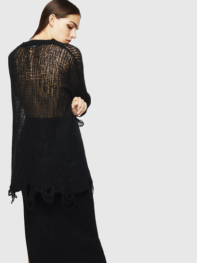 Diesel - M-ANDREA, Black - Knitwear - Image 2