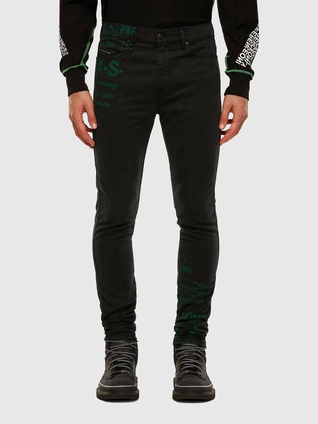 D-REEFT JoggJeans® 009HD, Black/Dark grey - Jeans