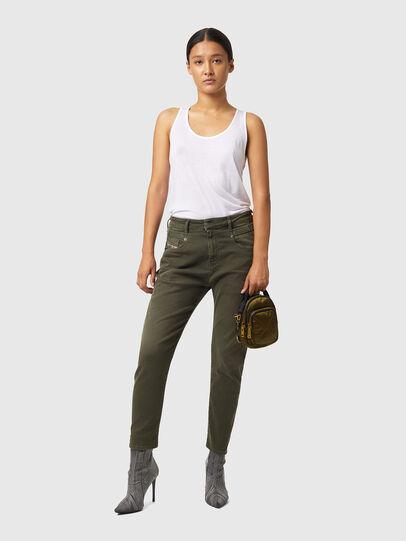 Diesel - Fayza JoggJeans® Z670M, Military Green - Jeans - Image 4